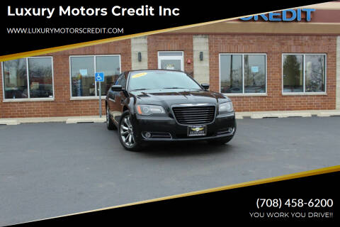 2014 Chrysler 300 for sale at Luxury Motors Credit Inc in Bridgeview IL