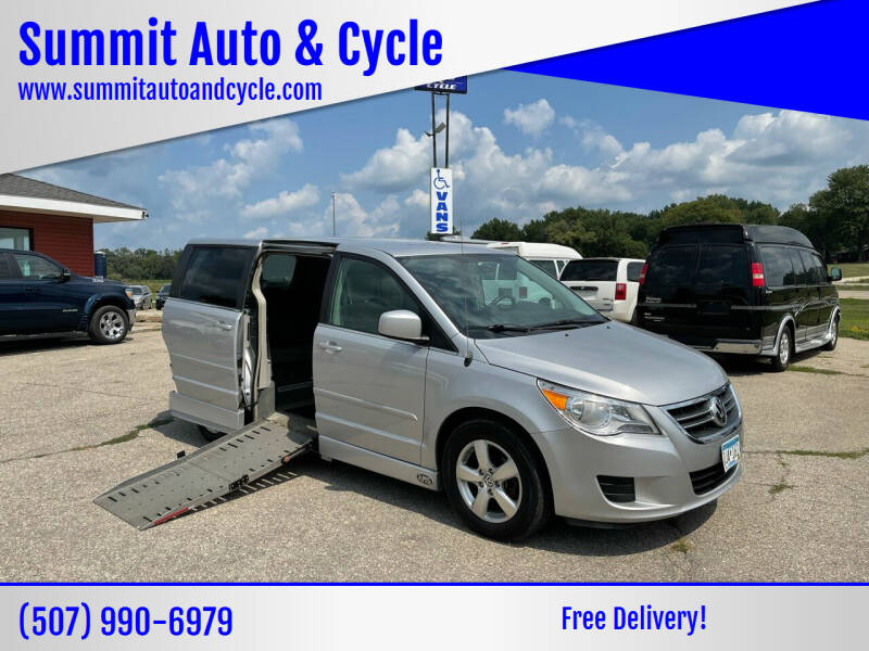 2009 Volkswagen Routan for sale at Summit Auto & Cycle in Zumbrota MN