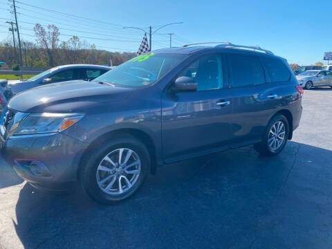 2014 Nissan Pathfinder for sale at Brian Jones Motorsports Inc in Danville VA