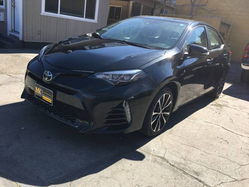 2018 Toyota Corolla for sale at MK Auto Wholesale in San Jose CA