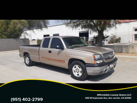 2004 Chevrolet Silverado 1500 for sale at Affordable Luxury Autos LLC in San Jacinto CA