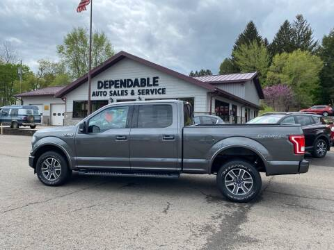 2017 Ford F-150 for sale at Dependable Auto Sales and Service in Binghamton NY