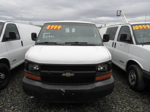 2009 Chevrolet Express Cargo for sale at Royal Auto Sales, LLC in Algona WA