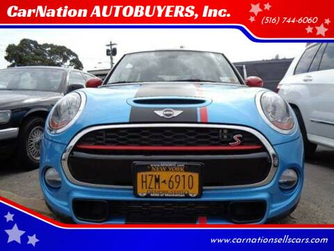 2015 MINI Hardtop 2 Door for sale at CarNation AUTOBUYERS, Inc. in Rockville Centre NY
