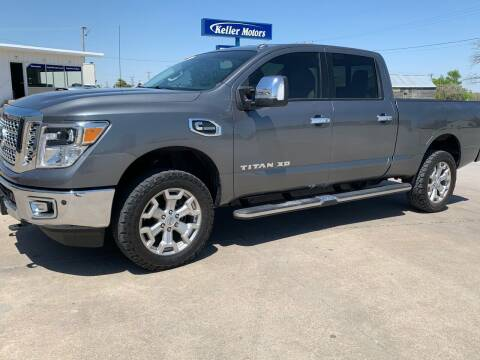 2016 Nissan Titan XD for sale at Keller Motors in Palco KS
