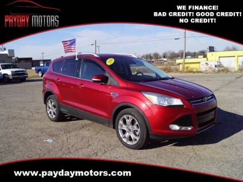 2014 Ford Escape for sale at Payday Motors in Wichita And Topeka KS