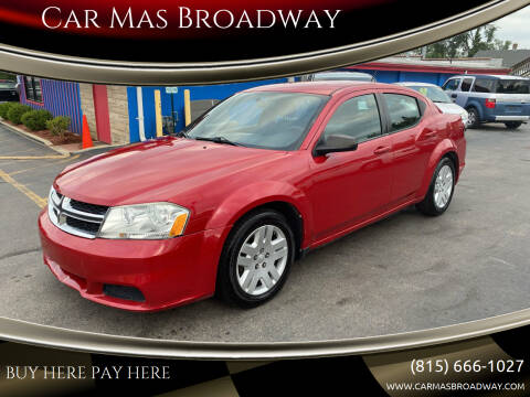 2011 Dodge Avenger for sale at Car Mas Broadway in Crest Hill IL