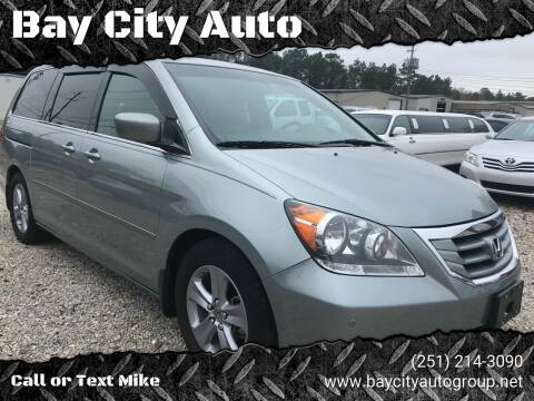 2010 Honda Odyssey for sale at Bay City Auto's in Mobile AL