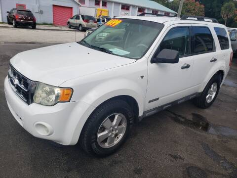 2008 Ford Escape for sale at ANYTHING ON WHEELS INC in Deland FL