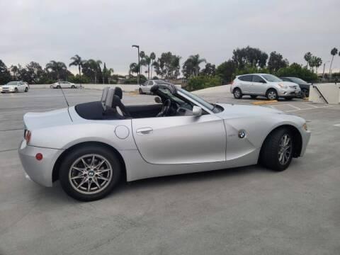 2003 BMW Z4 for sale at DNZ Auto Sales in Costa Mesa CA