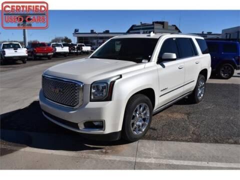 2015 GMC Yukon for sale at South Plains Autoplex by RANDY BUCHANAN in Lubbock TX