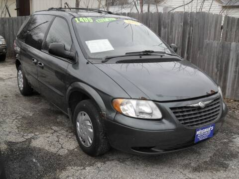 2004 Chrysler Town and Country for sale at Weigman's Auto Sales in Milwaukee WI