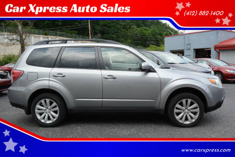 2011 Subaru Forester for sale at Car Xpress Auto Sales in Pittsburgh PA