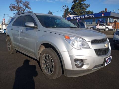 2011 Chevrolet Equinox for sale at All American Motors in Tacoma WA