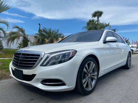 2014 Mercedes-Benz S-Class for sale at GCR MOTORSPORTS in Hollywood FL