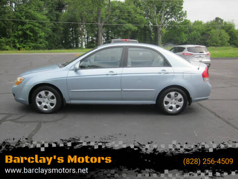 2007 Kia Spectra for sale at Barclay's Motors in Conover NC