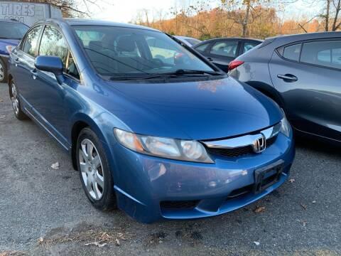 2009 Honda Civic for sale at D & M Discount Auto Sales in Stafford VA