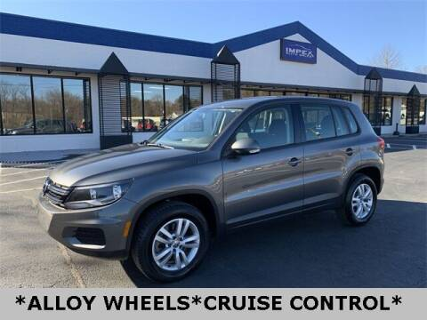 2014 Volkswagen Tiguan for sale at Impex Auto Sales in Greensboro NC