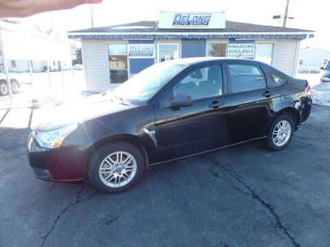 2008 Ford Focus for sale at DeLong Auto Group in Tipton IN