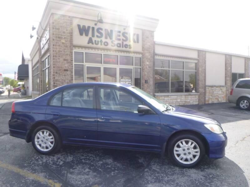 2005 Honda Civic for sale at Wisneski Auto Sales, Inc. in Green Bay WI