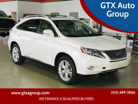 2010 Lexus RX 450h for sale at GTX Auto Group in West Chester OH