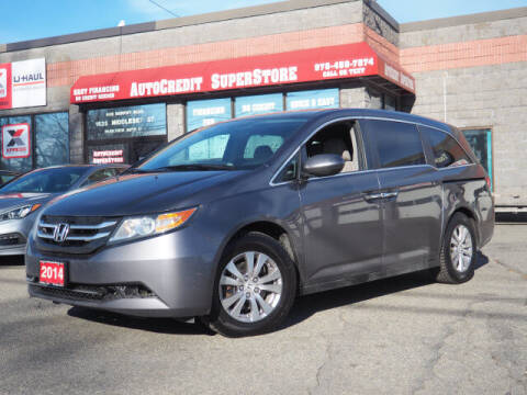 2014 Honda Odyssey for sale at AutoCredit SuperStore in Lowell MA