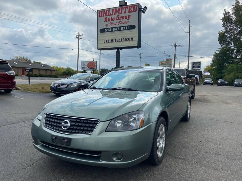 2005 Nissan Altima for sale at Unlimited Auto Group in West Chester OH