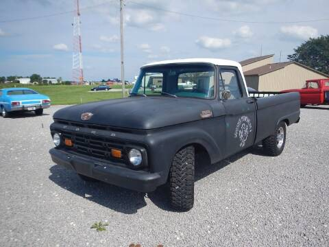 1964 Ford F-250 for sale at Custom Rods and Muscle in Celina OH