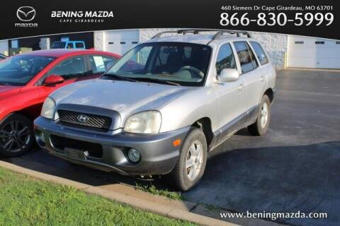 2004 Hyundai Santa Fe for sale at Bening Mazda in Cape Girardeau MO