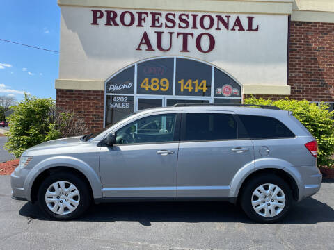 2018 Dodge Journey for sale at Professional Auto Sales & Service in Fort Wayne IN