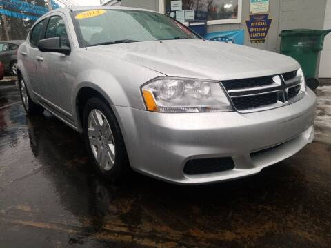 2011 Dodge Avenger for sale at Bizzarro`s Fleetwing Auto Sales in Erie PA