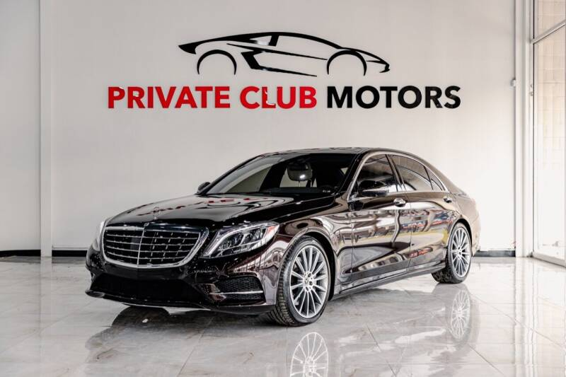 2017 Mercedes-Benz S-Class for sale at Private Club Motors in Houston TX