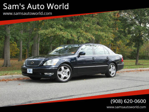 2006 Lexus LS 430 for sale at Sam's Auto World in Roselle NJ