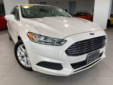 2013 Ford Fusion for sale at Auto Mall of Springfield in Springfield IL