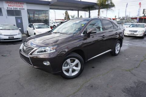 2013 Lexus RX 350 for sale at Industry Motors in Sacramento CA