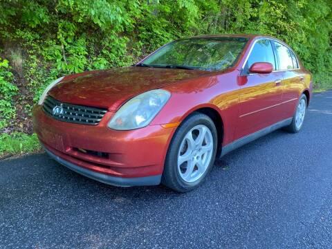 2003 Infiniti G35 for sale at Lenoir Auto in Lenoir NC