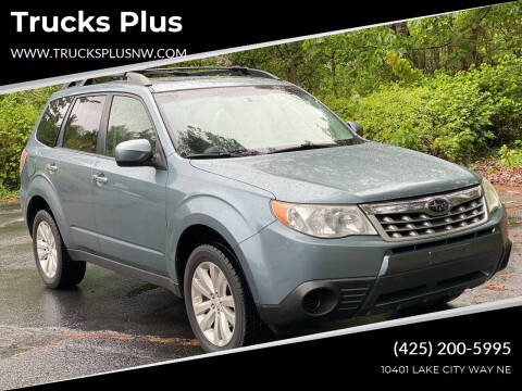 2012 Subaru Forester for sale at Trucks Plus in Seattle WA