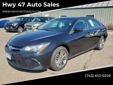 2017 Toyota Camry for sale at Hwy 47 Auto Sales in Saint Francis MN