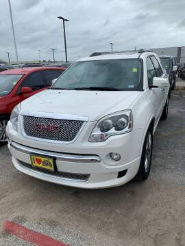 2011 GMC Acadia for sale at Tom Peacock Nissan (i45used.com) in Houston TX