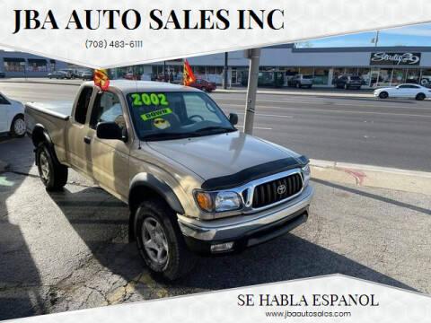 2002 Toyota Tacoma for sale at JBA Auto Sales Inc in Stone Park IL
