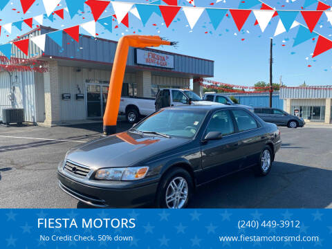 2001 Toyota Camry for sale at FIESTA MOTORS in Hagerstown MD