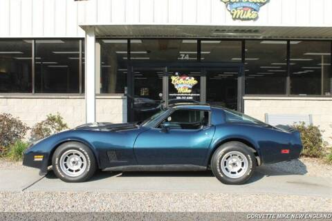 1981 Chevrolet Corvette for sale at Corvette Mike New England in Carver MA