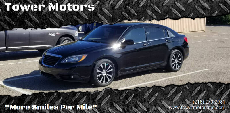 2014 Chrysler 200 for sale at Tower Motors in Brainerd MN