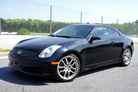 2006 Infiniti G35 for sale at CU Carfinders in Norcross GA