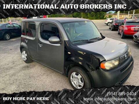 2011 Nissan cube for sale at INTERNATIONAL AUTO BROKERS INC in Hollywood FL