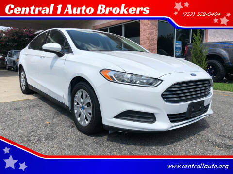 2014 Ford Fusion for sale at Central 1 Auto Brokers in Virginia Beach VA