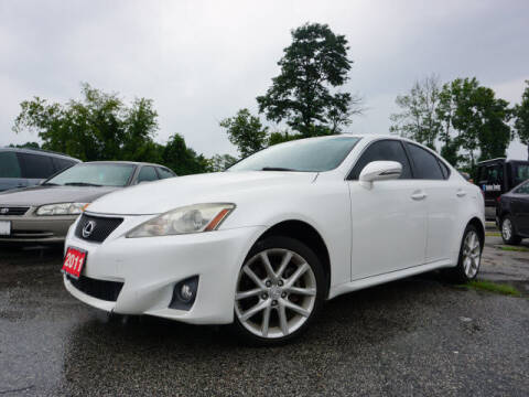 2011 Lexus IS 250 for sale at AutoCredit SuperStore in Lowell MA