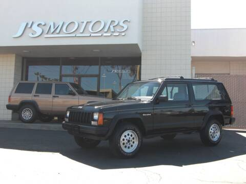 1991 Jeep Cherokee for sale at J'S MOTORS in San Diego CA