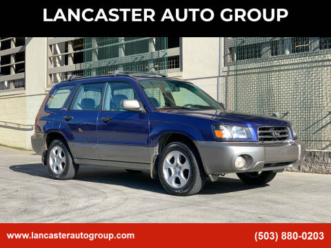 2004 Subaru Forester for sale at LANCASTER AUTO GROUP in Portland OR