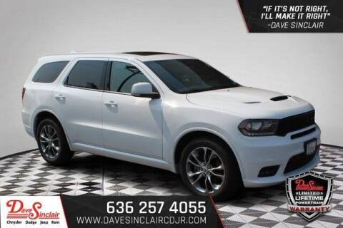 2020 Dodge Durango for sale at Dave Sinclair Chrysler Dodge Jeep Ram in Pacific MO